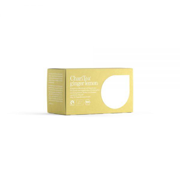 ChariTea ginger lemon gember citroen thee biologische thee