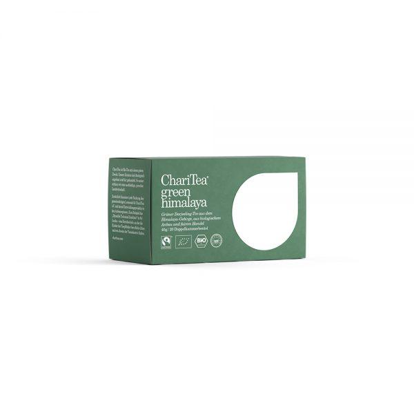 ChariTea green himalaya groene thee biologische thee