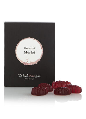 merlot rode wijn the real wine gum winegum wijn cadeau vinoos by ams