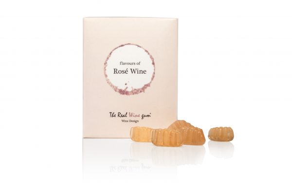 rose rosé the real wine gum winegum winegums cadeau vinoos by ams